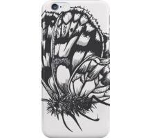 Grey Moth iPhone Case/Skin