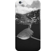 Shark Under The Clouds iPhone Case/Skin