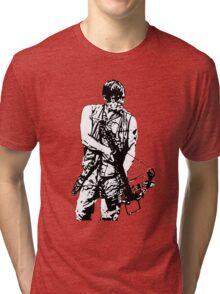 Daryl Dixon Walking Dead  Tri-blend T-Shirt