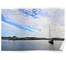 Prospect Bay, Nova Scotia Poster