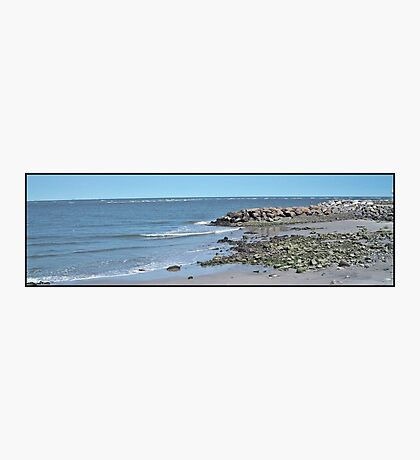 Inlet Barrier Photographic Print