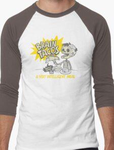 Brain Tacos Men's Baseball ¾ T-Shirt