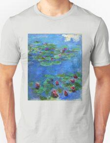 Claude Monet - Red Water-Lilies T-Shirt