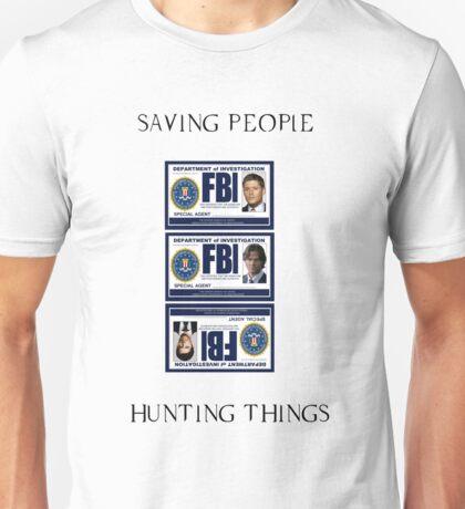 Supernatural Badge Unisex T-Shirt