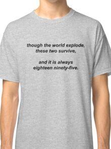 221B by Vincent Starett (black) Classic T-Shirt