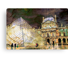 Parisian Mosaic - Piece 23 - On the Edge Between Modern and Ancient Canvas Print
