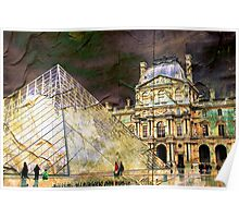 Parisian Mosaic - Piece 23 - On the Edge Between Modern and Ancient Poster
