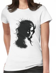 Portrait Womens Fitted T-Shirt