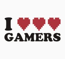I Heart Gamers by AngryMongo
