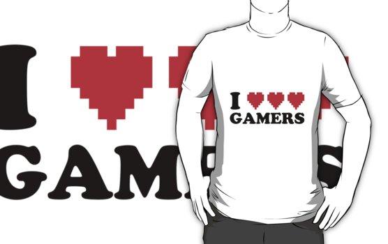 I Heart Gamers by AngryMongo