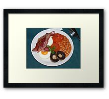 Breakfast Time! Framed Print