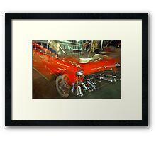 Chevy Blur Framed Print