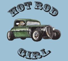 Hot Rod Girl Tee Kids Tee
