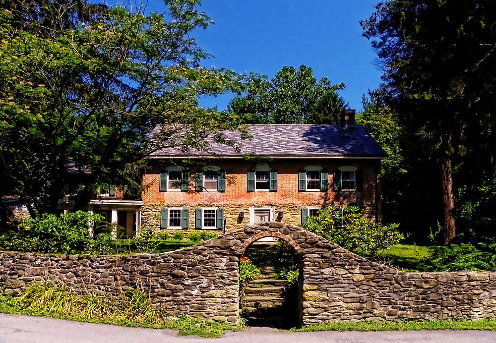 Gomez Mill House Dwelling by Pamela Phelps