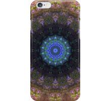The Dark Forest II - Blue, Green, Purple Kaleidoscope iPhone Case/Skin