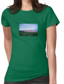 Southwest Mountain Corn Womens Fitted T-Shirt