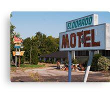 Seeking El Dorado Canvas Print