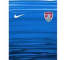 USWNT Away Jersey  by alewis97