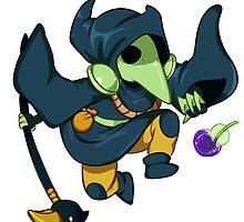 Shovel Knight- Plague knight by mikkynga