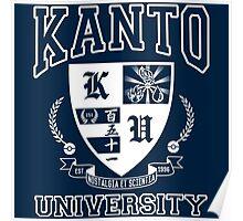 Kanto University Poster