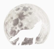 Howling Wolf One Piece - Short Sleeve