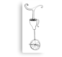 cup of whimsy tea Metal Print