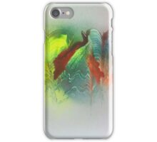 Mountains in the mist iPhone Case/Skin