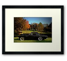 1955 Ford Thunderbird Framed Print