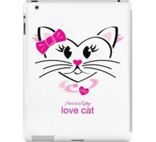 HeartKitty Love-Cat iPad Case/Skin