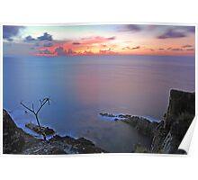 Guana Island Sunset Poster