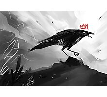 The Crow King II Photographic Print