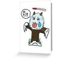 Poro Ward Greeting Card
