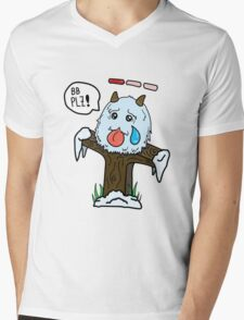 Poro Ward Mens V-Neck T-Shirt