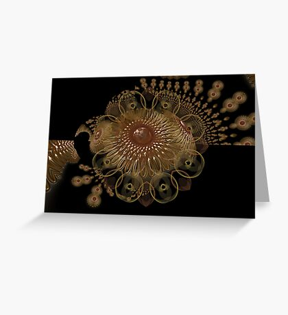 Jelly Spirograph 1 Greeting Card