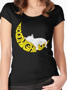 Goodnight Moon... Women's Fitted Scoop T-Shirt