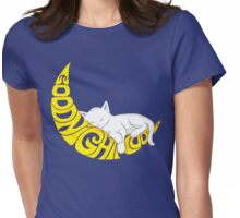 Goodnight Moon... Womens Fitted T-Shirt