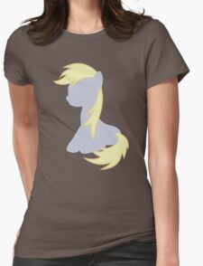 Derpy Hooves Womens Fitted T-Shirt