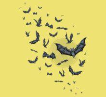Bat Swarm (Shirt) Kids Clothes