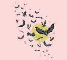 Bat Swarm (Shirt) One Piece - Short Sleeve
