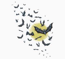 Bat Swarm (Shirt) Kids Tee