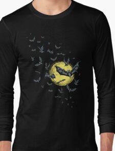 Bat Swarm (Shirt) Long Sleeve T-Shirt