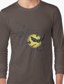 Bat Swarm (Shirt) Long Sleeve T-Shirt