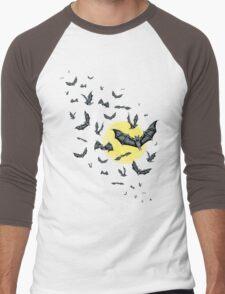 Bat Swarm (Shirt) Men's Baseball ¾ T-Shirt