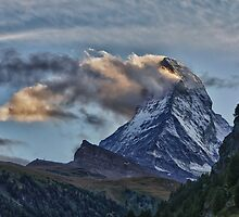 Matterhorn Sunset II by Tomas Abreu