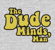 The Dude Minds, Man One Piece - Long Sleeve