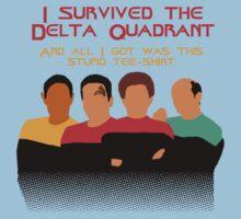 Voyages in the Delta Quadrant Kids Clothes