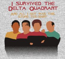 Voyages in the Delta Quadrant One Piece - Long Sleeve