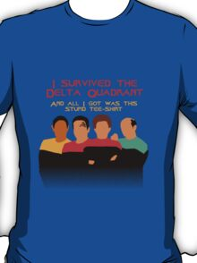Voyages in the Delta Quadrant T-Shirt