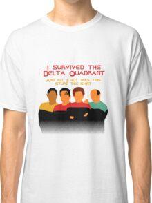 Voyages in the Delta Quadrant Classic T-Shirt