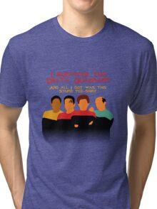 Voyages in the Delta Quadrant Tri-blend T-Shirt